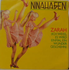 "Nina Hagen - Zarah - Frühling in Paris - ASFC 3687 - 7"" SINGLE (J284)"