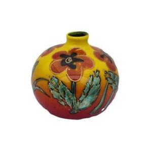 Anita Harris Art Floral Design 10cm Vase Mothers Day Birthday Gift Ideas
