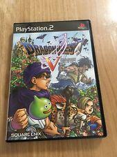 Dragon Quest 5 PS2 Playstation 2 J-NTSC Japanese
