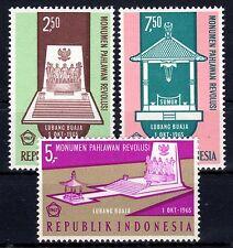 Indonesia - 1967 Heroes monument - Mi. 585-87 MNH