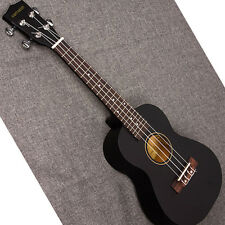 "Professional 21"" Acoustic Soprano Ukulele Music Instrument Black color"