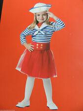 Girls Size Small (4-6) * Sassy Sailor * Halloween Costume New