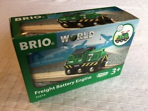 Brio 33214 Freight Battery Engine 1-Piece Toy Train