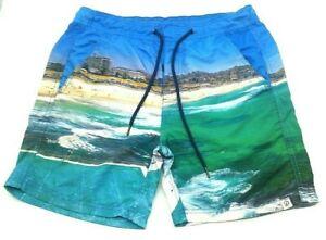 Duchamp Premium Collection Men's Bondi Print Board Shorts Size M **Free Post**