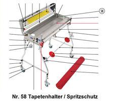 Tapofix Ersatzteil Nr. 58 Tapetenhalter/Spritzschutz - für CB 75 N / 800 N -