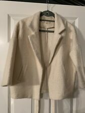 MARIE SIXTINE BEIGE WOOL JACKET M/L Worn Once