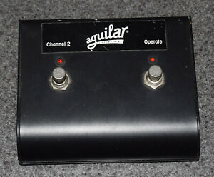 AGUILAR AMPLIFIER FOOT PEDAL SWITCH CHANNEL 2 OPERATE