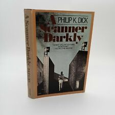 A Scanner Darkly Philip K Dick 1977 Hardcover H05 Gutter Code First Edition BCE