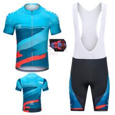 ES MTTHT Maillot Equipacion Ciclismo Respirable 9D Gel Culotte Competencia Ropa