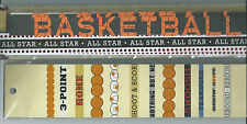 RECOLLECTIONS BASKETBALL 26 ADHESIVE BORDERS STICKERS BNIP
