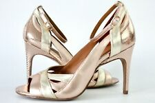 REISS Florence Strap Heeled Sandals UK Size 4
