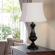 Hampton Bay  Candler 25.75 in.  Oil Rubbed Bronze  Table Lamp #1000015333