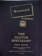 1916-1933 Clutch repair with sizes Service Manual Repair Manual STEP-BY-STEP