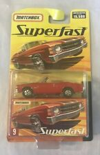 Matchbox Superfast - Red Chevy Chevelle - NEW Limited Edition