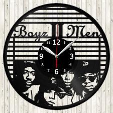 Boyz II Men Vinyl Record Wall Clock Decor Handmade 4277