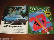 RIVISTA ROMBO 1985/39=CRISI FERRARI=GUIDA RALLY SANREMO=HONDA VFR 750=