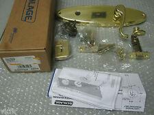 Schlage FA359CLT605VENRH Right-Handed Lever & Deadbolt,Venice Escutcheon,Brass