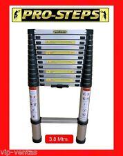 Escalera telescópica 3.8 mtrs. marca Pro-Steps