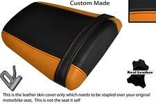 ORANGE & BLACK CUSTOM FITS HONDA CBR 600 RR5 RR6 05-06 REAR SEAT COVER