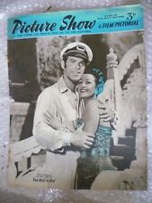 1953 PICTURE SHOW- Fred Macmurray,Vera Ralston in FAIR WIND TO JAVA, 20 June