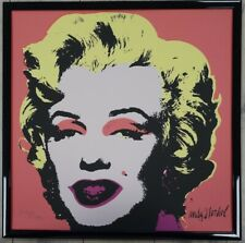 E - Andy Warhol Marilyn Monroe Lithograph Limited 2400 pcs.