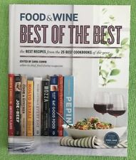 Food and Wine 2012 Annual Best of the Best 25 Cookbooks 115 Recipes Hardcover