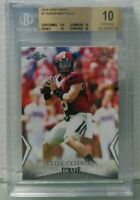 Baker Mayfield 2018 Leaf Draft # 7 Rookie BGS 10 Pristine Rare invest now hot rc