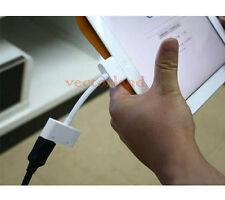 Digital HDMI HDTV Adapter Cable AV to Dock 30Pin for Apple iPad 2 iPhone 4 4S