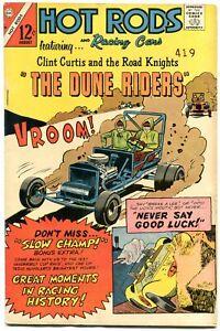Hot Rods and Racing Cars #80 1966- Charlton Comics Vanderbuilt Cup Race 1937