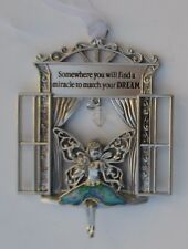 bb Somewhere you'll find miracle 2 match your dream Garden Fairy Window Ornament