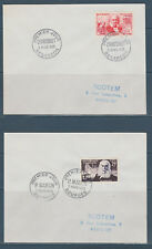 enveloppe 1er jour série des 6 inventeurs célèbres  1955