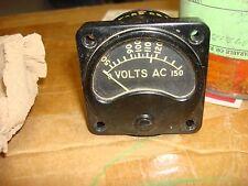 steam punk,vintage ac volt meter 0 to 150 lockheed martin co