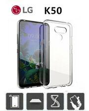 COVER per LG K50 / LG Q60 Trasparente Silicone TPU Custodia Ultra Slim K 50 2019