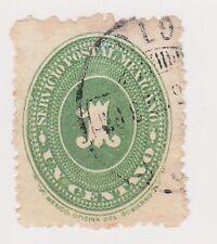 (MCO-37) 1886 Mexico 1c green (B)