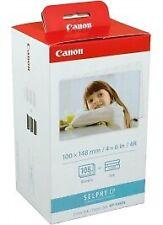 Canon cartucho + papel kp-108in (c/m/y) (aprox. 3x36 p.) estrenar