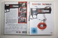 LIES & UND ILLUSIONS DVD mit Christian Slater Cuba Gooding Jr.