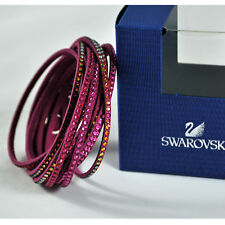 swarovski originale slake bracciale doppio giro 5035019 bracelet authentique