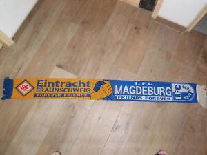 EINTRACHT BRAUNSCHWEIG 1.FC MAGDEBURG SCHAL WOLLSCHAL in FREUNDSCHAFT