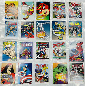 MARVEL SUPERHEROES USPS~First Day Issue Stamped Postcard 2007, 20 to Choose From