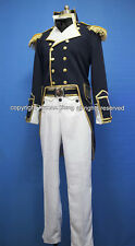 Star Trek Generations 19th Century Navy Uniform Cosplay Costume Custom Made