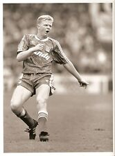 ORIGINALE stampa foto Liverpool FC David Burrows 30.7.1989 (5)