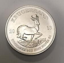 2018 1 Oz - Fine Silver - South Africa - Krugerrand