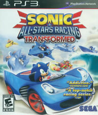 Sonic & All-Stars Racing Transformed  PS3 New PlayStation 3, Playstation 3