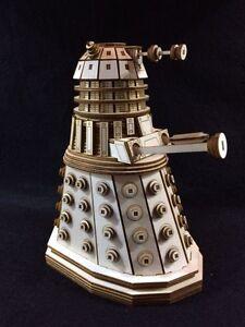 Dr Who's Dalek Laser Cut Wooden 3D Model/Puzzle Kit