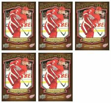 (5) 2009-10 Upper Deck Biography of a Season #BOS8 Nicklas Lidstrom Lot