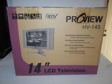 "*PROVIEW HV-147 14"" LCD TV EDTV"