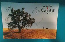Switchfoot Fading West Autographed Poster (Great Condition) (12x18 inches)