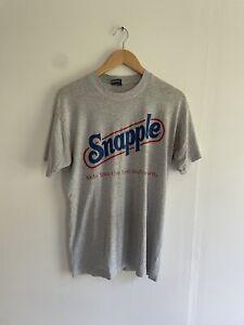vintage Snapple t shirt vntg shirt 50/50 single stitch mens L 90s