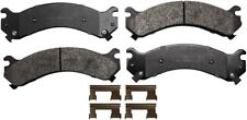 Disc Brake Pad Set-ProSolution Semi-Metallic Brake Pads Rear Monroe FX909