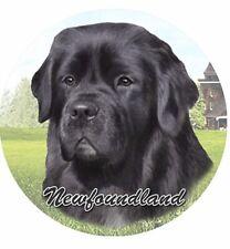 Es E & S Pets Absorbent Stoneware Car Cup Holder Coaster Dog Gift Newfoundland
